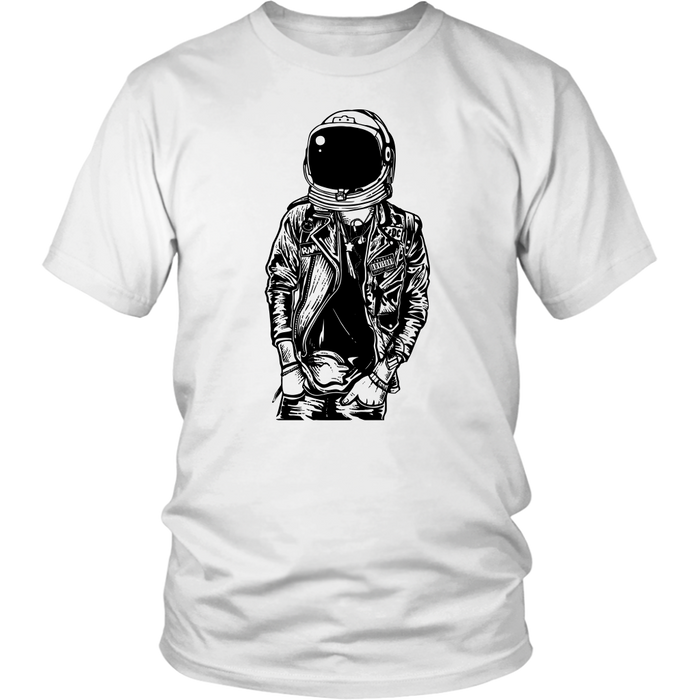 District Unisex - Punk Rockin in Space, T-shirt, pyaonline