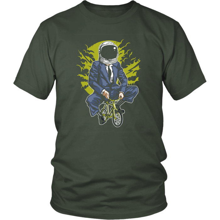 District Unisex - Pedal to the Moon, T-shirt, pyaonline
