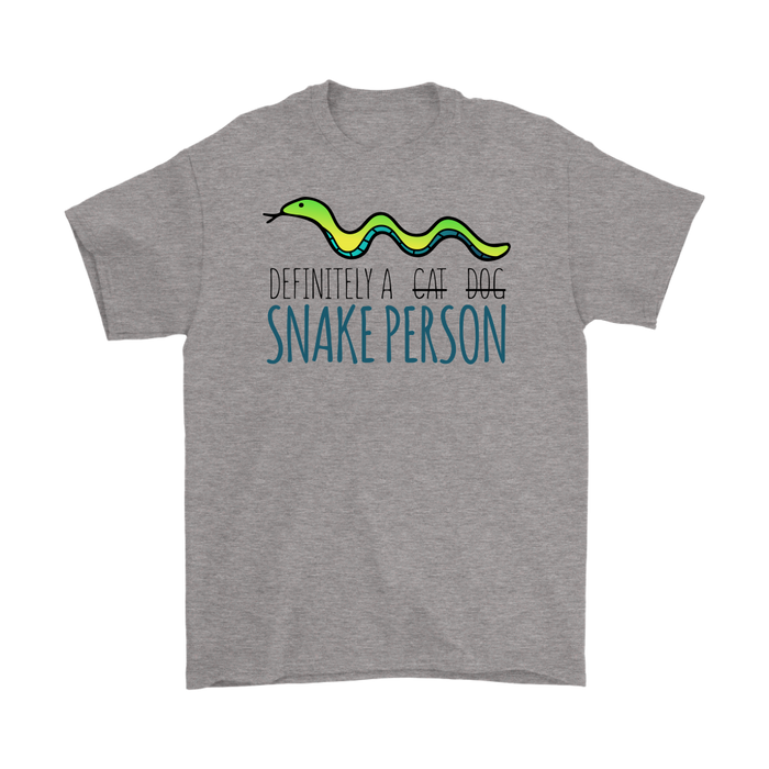 DEFINITELY A CAT DOG SNAKE PERSON, T-shirt, Personally Yours Accessories
