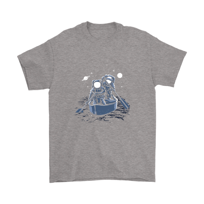 Gildan - Astronaut Paddling Across The Galaxy, T-shirt, pyaonline