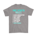 Funnest contradicting phrases 1. clearly misundestood 2. Exact estimate 3. Small crowd 4. Act naturally 5. Found missing 6. Fully empty 7. Happily married  –  Men's T-Shir, T-shirt, Personally Yours Accessories
