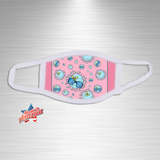 Pink Bug Cuties Print Essential Accessory, Facial Mask, Personally Yours Accessories