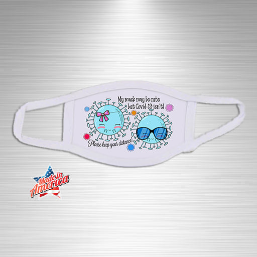 Bug Cuties Print Essential Accessory, Facial Mask, Personally Yours Accessories