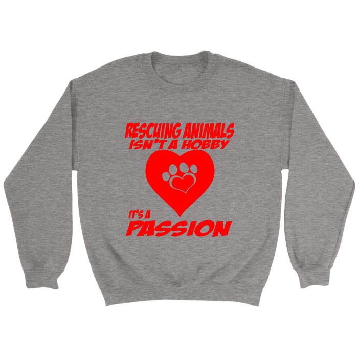 Crewneck Sweatshirt - Rescuing Animals, T-shirt, Personally Yours Accessories