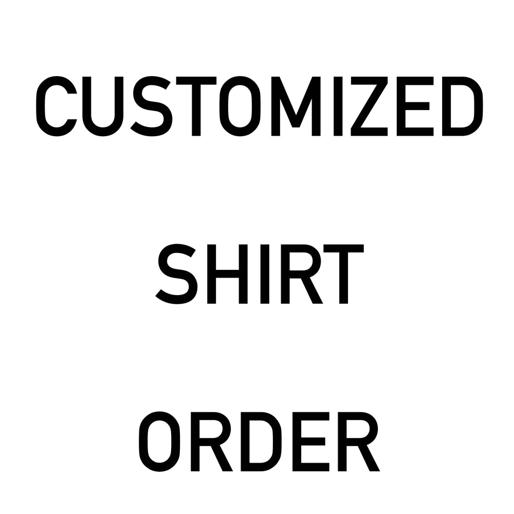 Custom Order of 25 Shirts, Apparel, Personally Yours Accessories