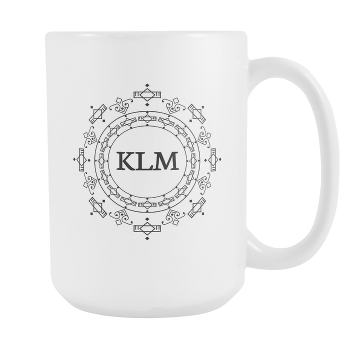White Mug Clothing Oz Fashion 15 Monogrammed wkZ80POXNn