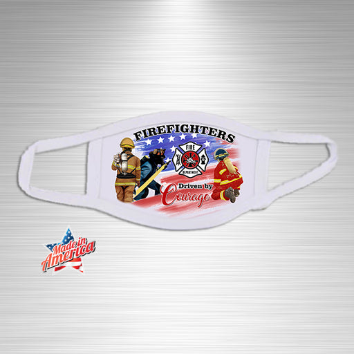 Firefighter Courage Essential Accessory, Facial Mask, Personally Yours Accessories