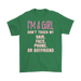 I'M A Girl Don't Touch My Hear Face Phone Or Boyfriend– Gildan Men's T-Shirt, T-shirt, Personally Yours Accessories