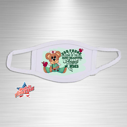 God made Angels Nurses Essential Accessory, Facial Mask, Personally Yours Accessories