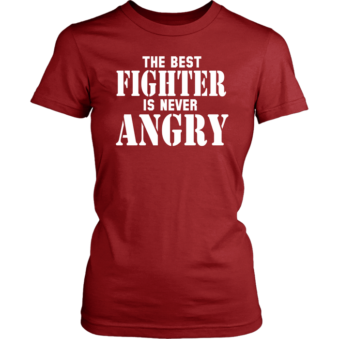 The Best Fighter Is Never Angry