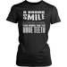 A broad smile is a cooler way of showing your enemies that you have teeth, T-shirt, Personally Yours Accessories