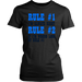 Rule #1 I`m always right Rule #2 If I `m wrong look at rule #1, T-shirt, Personally Yours Accessories