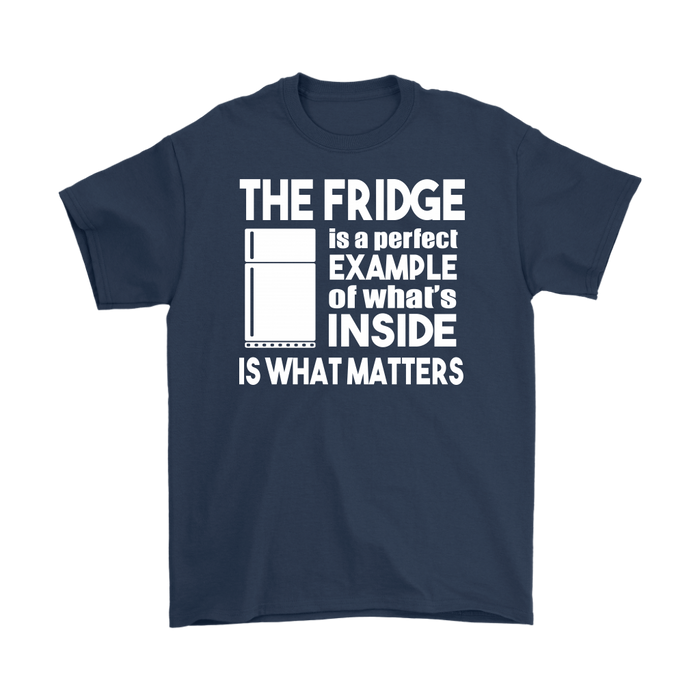 The Fridge Is A Perfect Example Of What's Inside Is What Matters
