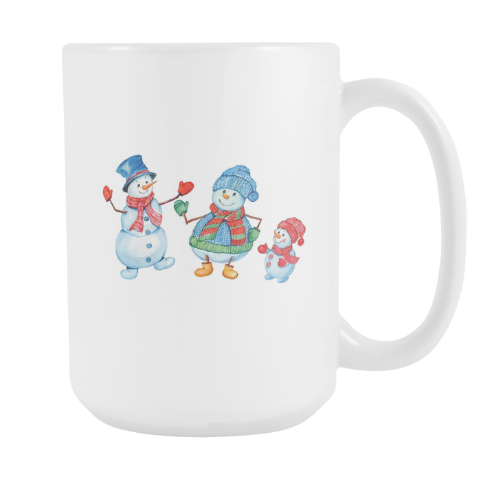 White 15oz Mug - Christmas - Families Smile