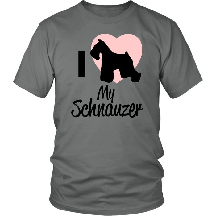 I <3 my Schnauzer | Love, T-shirt, Personally Yours Accessories