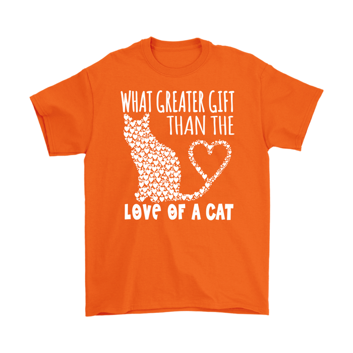 What Greater Gift Than The Love Of A Cat, T-shirt, Personally Yours Accessories