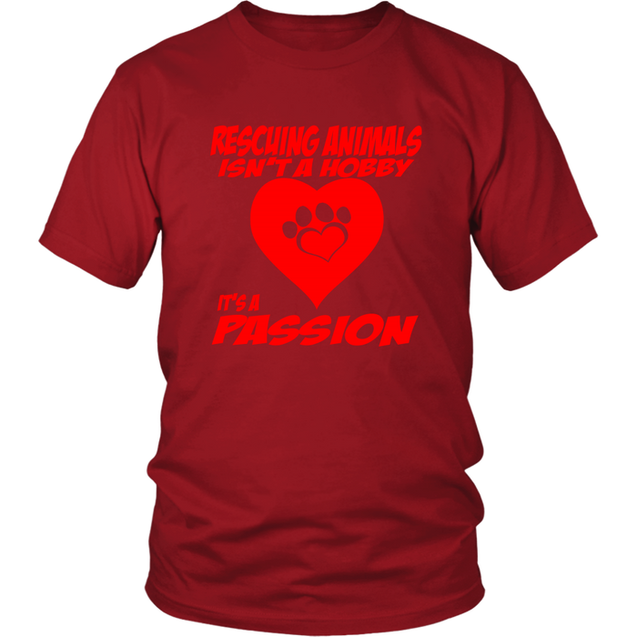 District Unisex - Rescuing Animals, T-shirt, pyaonline