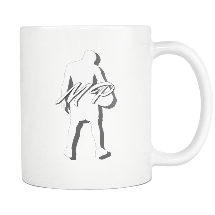 White 11oz Mug - Mateo Paz - Legendary Basketball Player, Drinkware, Personally Yours Accessories