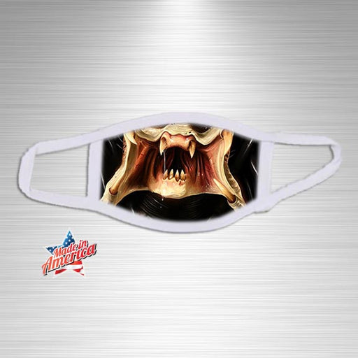 Alien Predator Print Essential Accessory, Facial Mask, Personally Yours Accessories