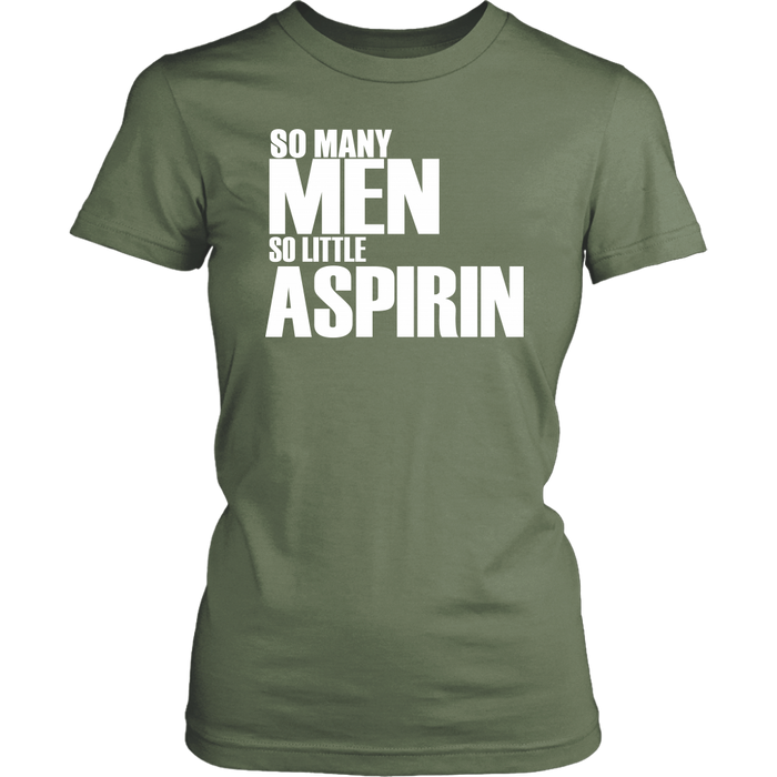 So Many men so little aspirin