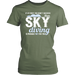 If At First You Don't Succeed Then Sky Diving Is Probably Not For You, T-shirt, Personally Yours Accessories