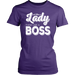 Act Like A Lady Think Like A Boss, T-shirt, Personally Yours Accessories