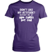 Don't Like My Attitude Report Me At Who Cares Bot Com, T-shirt, Personally Yours Accessories