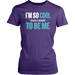 I'm so cool euen i want to be me, T-shirt, Personally Yours Accessories