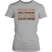 No Questions Until I've Had My My Second Cup Of Coffee, T-shirt, Personally Yours Accessories