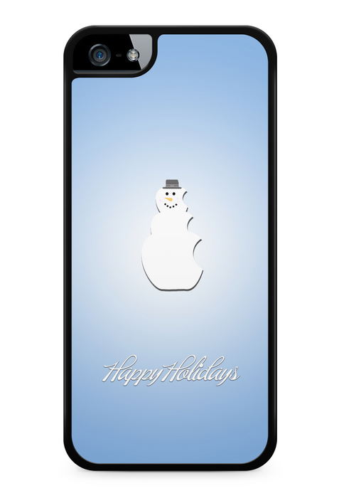 An Elegant Happy Holidays Snowman, Phone Case, Personally Yours Accessories