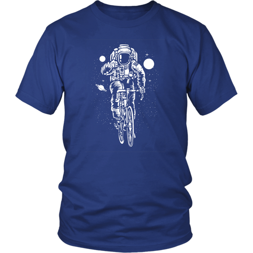 District Unisex - Astronaut Riding away in the Sky, T-shirt, pyaonline