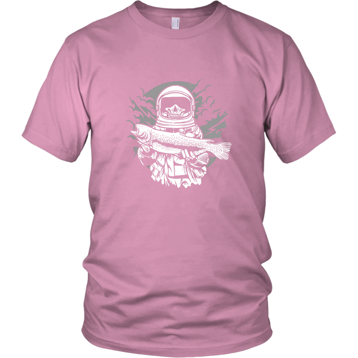 Fishing in Space Open and Free, T-shirt, Personally Yours Accessories
