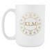 white 15 oz Mug - Monogrammed - Golden Hotel, Drinkware, Personally Yours Accessories