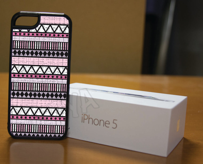 Pinks Aztec Designed, Phone Case, Personally Yours Accessories