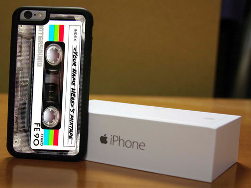 Retro Mix Tape Phone Case, Phone Case, pyaonline