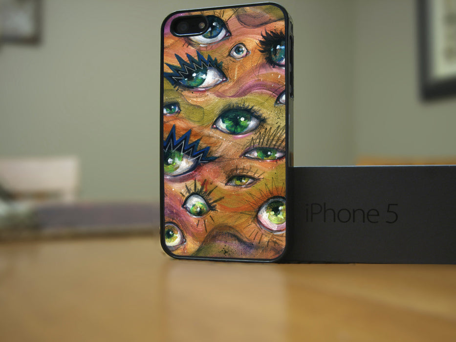 Roaming Eyes Phone Case for Apple iPhone & iTouch Devices