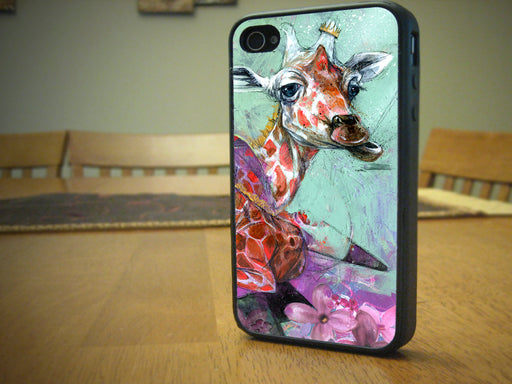 The peaceful Giraffe, Phone Case, Personally Yours Accessories