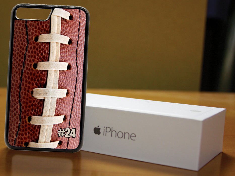 Two sides of a game - (Custom Number)  Football Themed Phone Case for Apple iPhone & iTouch Devices