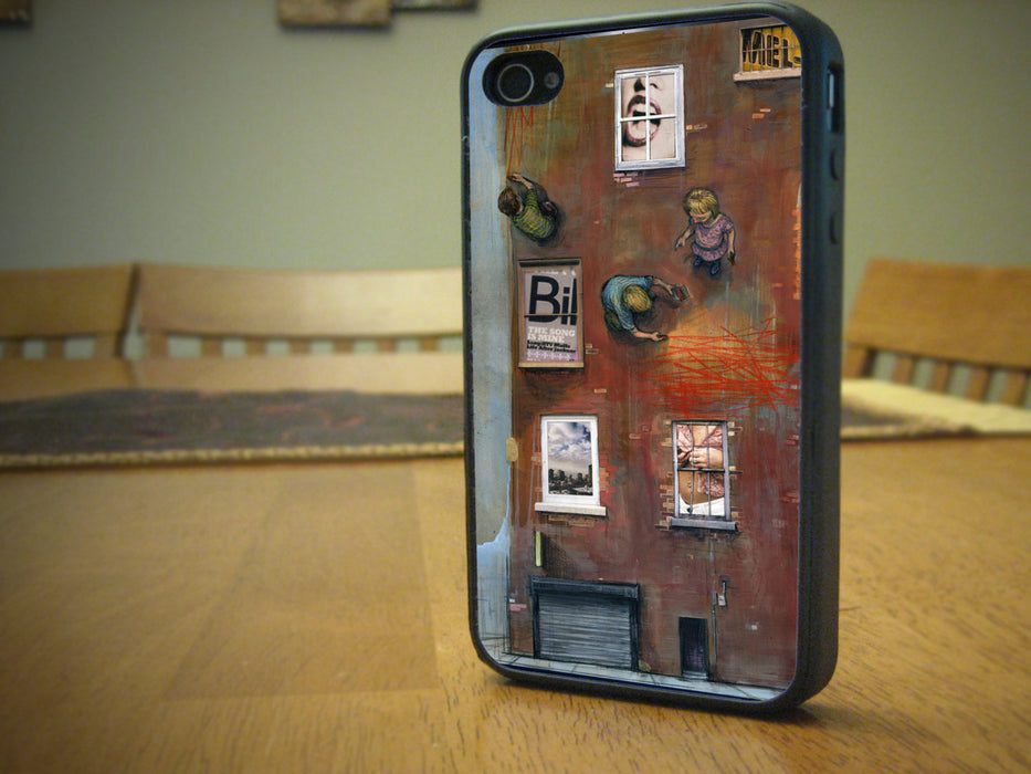 Plastic Architecture Themed, Phone Case, pyaonline