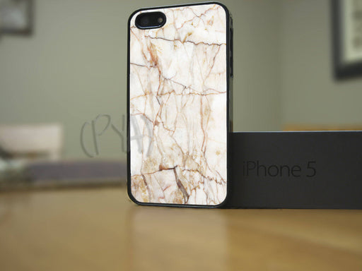 White & Orange Marble, Phone Case, Personally Yours Accessories