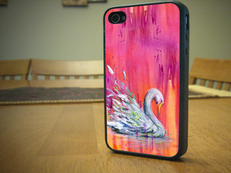 Elegant and Stunning Swan Swag - Your Phone will never be the same again for Samsung Galaxy Series, J3, Grand Prime, Alpha, Note 3, Note 7, Artistic, pyaonline