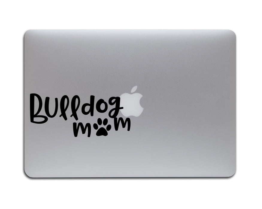 Bulldog Mom Decal, Car Decals, pyaonline