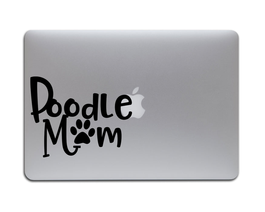 Poodle Mom Decal, Car Decals, pyaonline