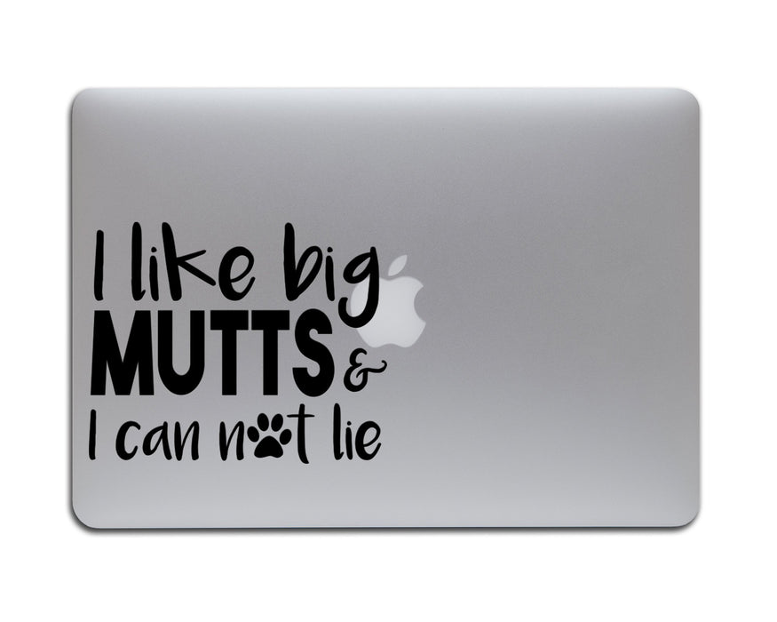 I Like Big Mutts & I Cannot Lie Decal, Car Decals, pyaonline
