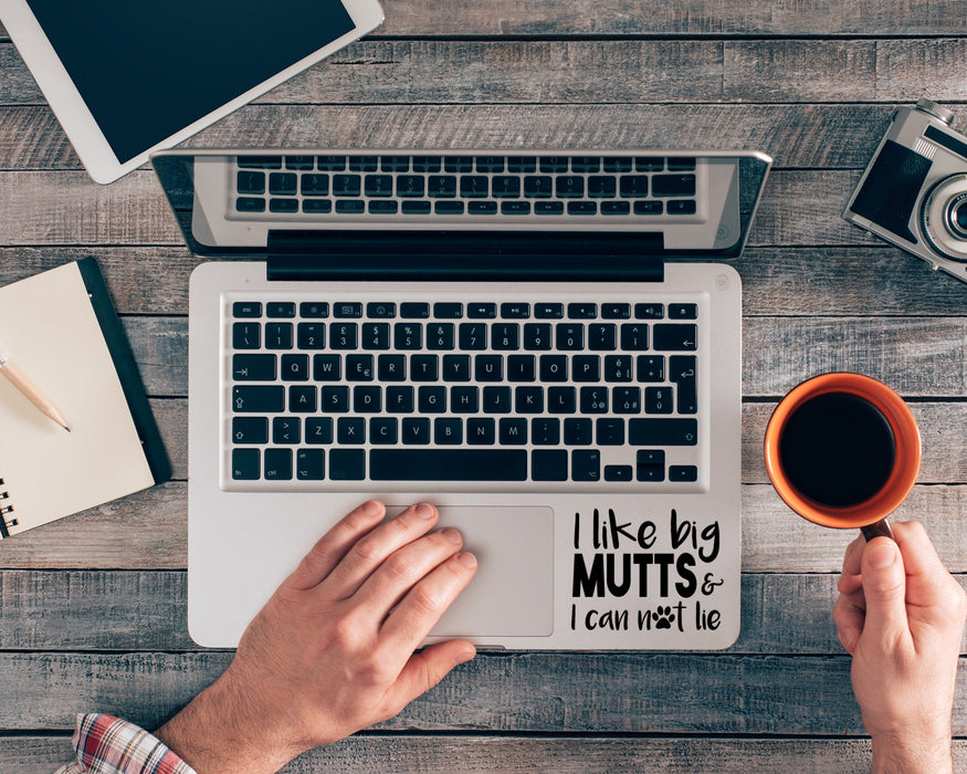 I Like Big Mutts & I Cannot Lie Decal, Car Decals, Personally Yours Accessories