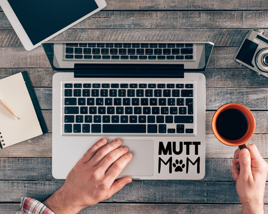 Mutt Mom Decal, Car Decals, pyaonline