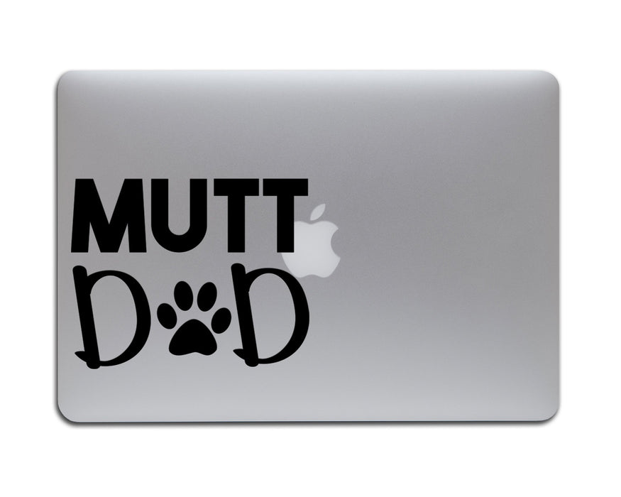 Mutt Dad Decal, Car Decals, pyaonline