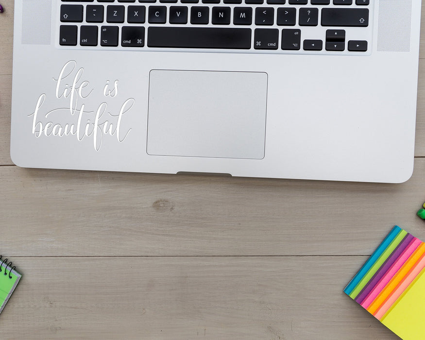 Life is Beautiful Decal, Car Decals, Personally Yours Accessories