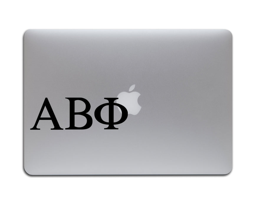 Custom Greek Lettering Decal, Car Decals, Personally Yours Accessories