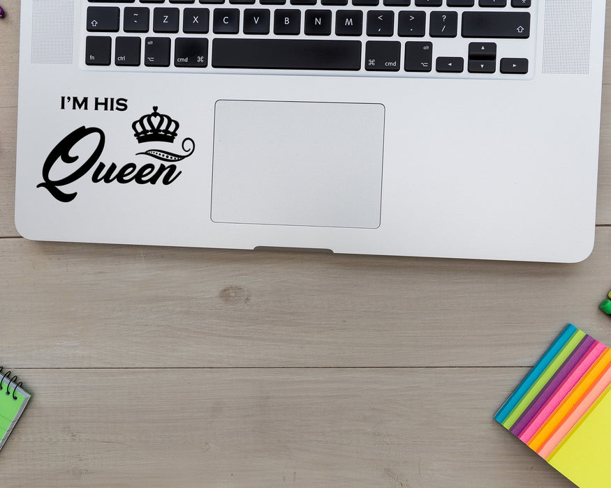 I'm His Queen Decal, Car Decals, Personally Yours Accessories